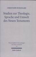 Studien zur Theologie  Sprache und Umwelt des Neuen Testaments PDF