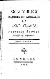 Oeuvres badines et morales de mr. Cazotte