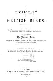 A Dictionary of British Birds: Reprinted from Montagu's Ornithological Dictionary, and Incorporating the Additional Species Described by Selby; Yarrell, in All Three Editions, and in Natural-history Journals