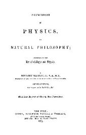 PRINCIPLES OF PHYSICS, OR NATURAL PHILOSOPHY