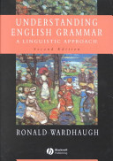 Understanding English Grammar PDF