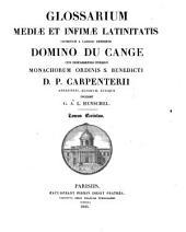 Glossarium mediae et infimae latinitatis: P - R, Volume 5