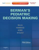 Berman s Pediatric Decision Making PDF