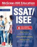 McGraw Hill Education SSAT ISEE  Fifth Edition Book