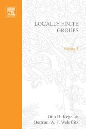 Locally Finite Groups