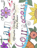 Affirmation Coloring Book and Journal