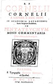 Commentaria: In Pentateuchum Mosis, Volume 1