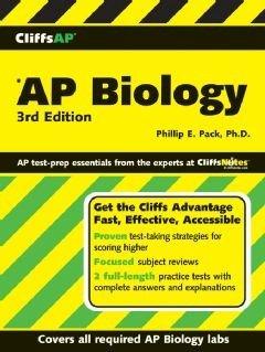 CliffsAP Biology  3rd Edition