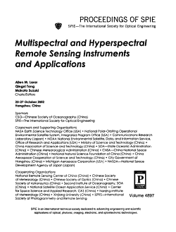 Multispectral and Hyperspectral Remote Sensing Instruments and Applications PDF