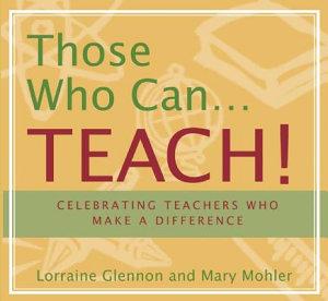 Those who Can   Teach  PDF