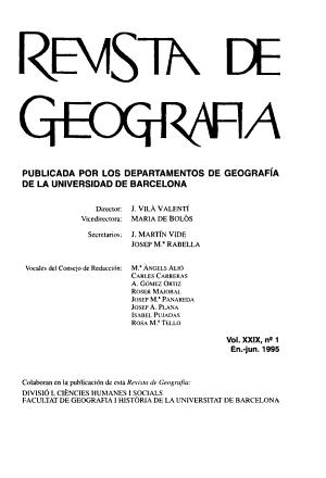 Revista de Geografia PDF