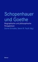Schopenhauer und Goethe PDF