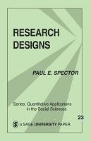 Research Designs PDF