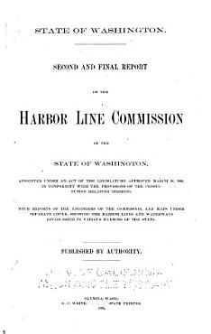 Report of the Harbor Line Commission of the State of Washington  with the Report of the Engineer of the Commission PDF