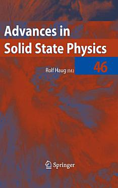 Advances in Solid State Physics 46 PDF