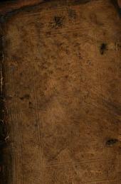 Thesaurus Locorum Communium Copiosissimus: Ex Veteri Et nouo Testamento, cum fideli ac perspicua interpretatione ...