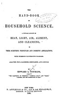 The Hand book of Household Science PDF