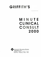 Griffith s 5 Minute Clinical Consult  2000 PDF