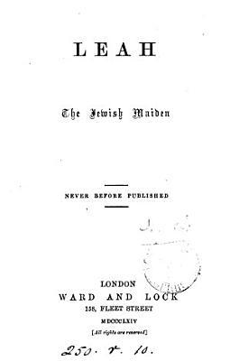 Leah  the Jewish Maiden PDF