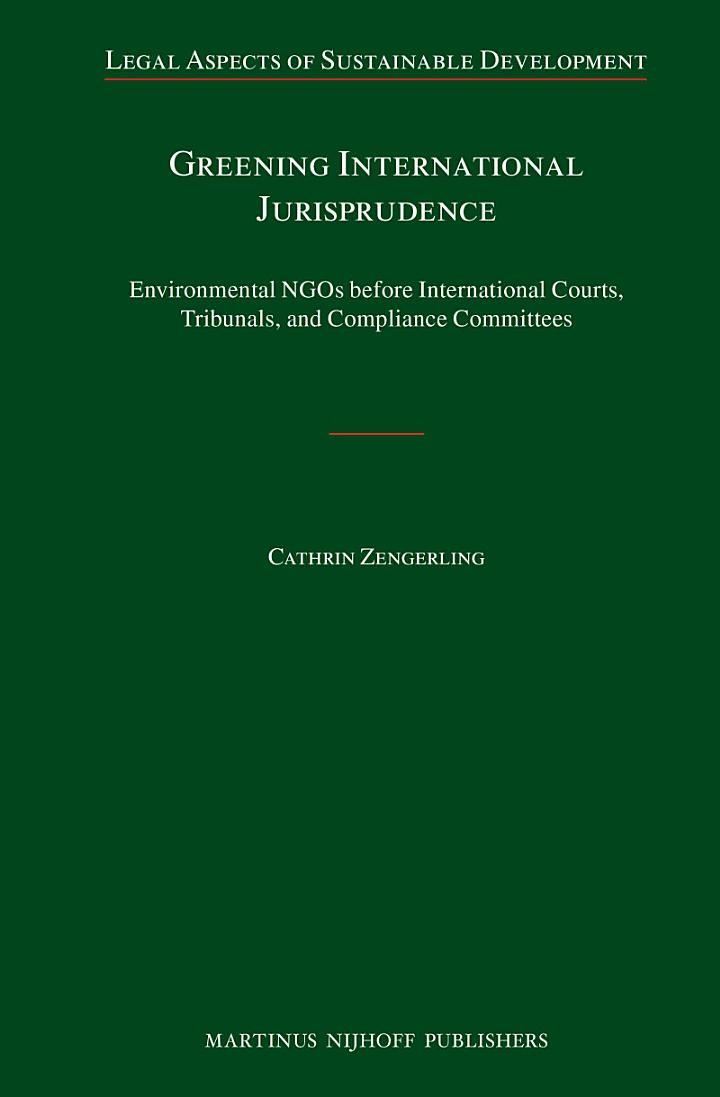 Greening International Jurisprudence
