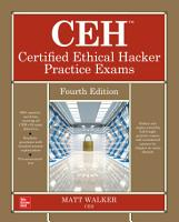 CEH Certified Ethical Hacker Practice Exams  Fourth Edition PDF