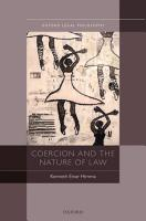 Coercion and the Nature of Law PDF