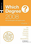 Which Degree? 2008