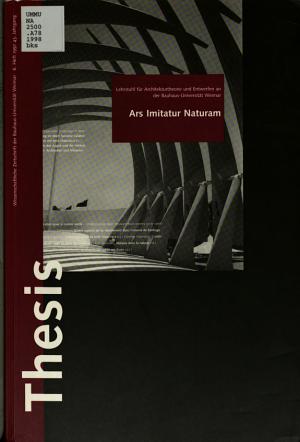 Ars imitatur naturam PDF