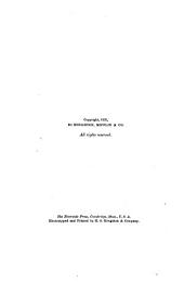 Autumn: From the Journal of Henry David Thoreau Edited by H.G.O. Blake