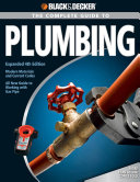 Black   Decker The Complete Guide to Plumbing PDF