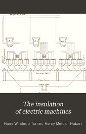 The Insulation of Electric Machines