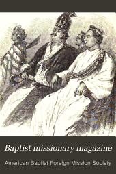 Baptist Missionary Magazine: Volume 69