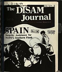 The DISAM Journal of International Security Assistance Management PDF
