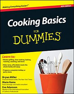 Cooking Basics For Dummies Book