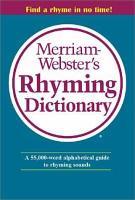 Merriam Webster s Rhyming Dictionary PDF