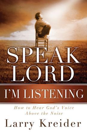 Speak Lord  I m Listening PDF