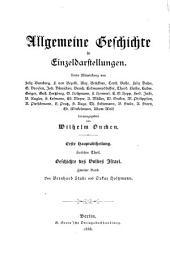 Geschichte des Volkes Israel: Bd. I. Geschichte des vorchristlichen Judenthums bis zur griechischen Zeit