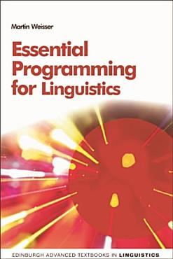 Essential Programming for Linguistics PDF