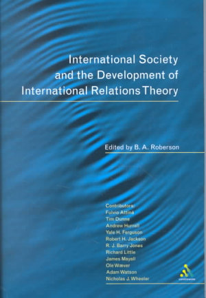 International Society and the Development of International Relations Theory