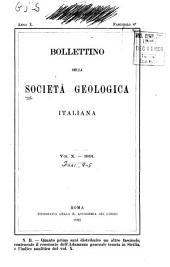 Bollettino della Società geologica italiana: Volume 10,Parti 4-5