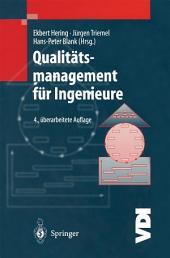 Qualitätsmanagement für Ingenieure: Ausgabe 4
