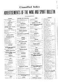 The Wine and Spirit Bulletin PDF