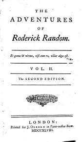The Adventures of Roderick Random: In Two Volumes..