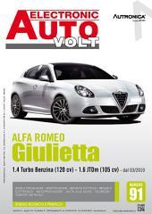 Manuale di elettronica Alfa Romeo Giulietta - EAV91: 1.4 Turbo Benzina (120 cv) e 1.6 JTDm (105 cv) dal 03/2010