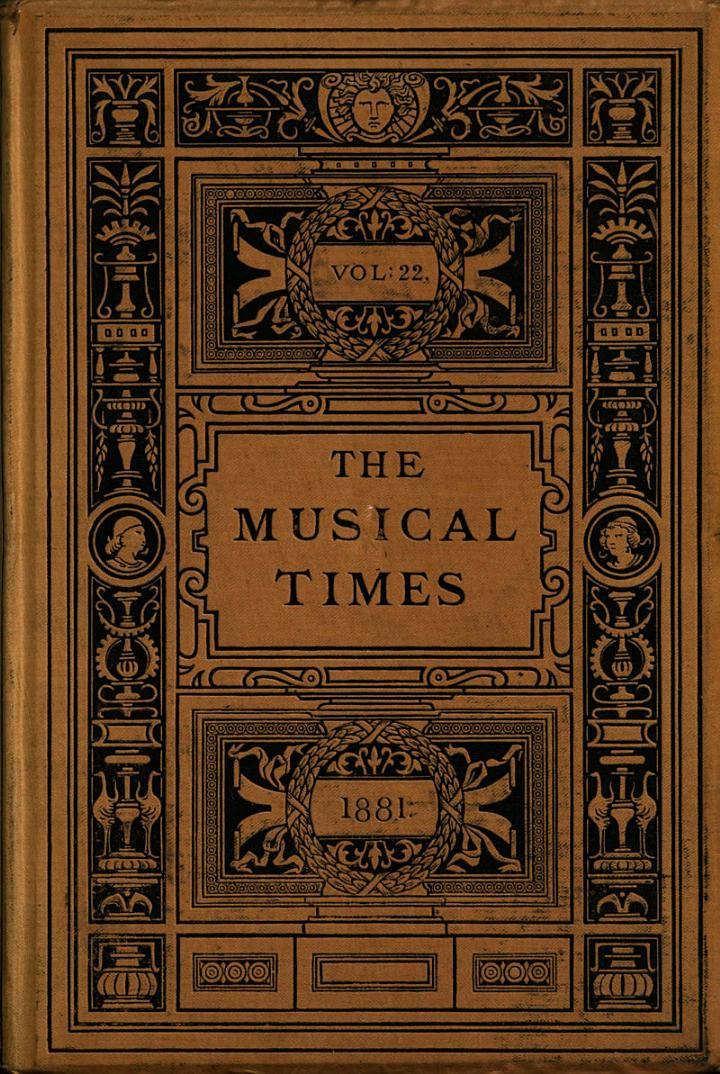 The Musical Times and Singing-class Circular