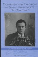 Modernism and Tradition in Ernest Hemingway s In Our Time PDF
