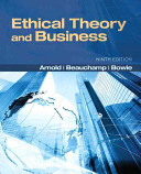 Ethical Theory and Business PDF