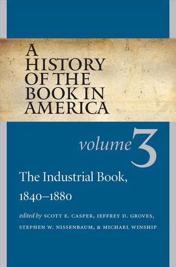 The Industrial Book  1840 1880 PDF