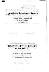 Diseases of the tomato in Louisiana
