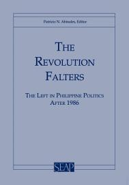 The Revolution Falters PDF